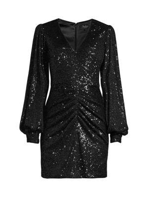 Ash Sequin Combo Sheath Dress