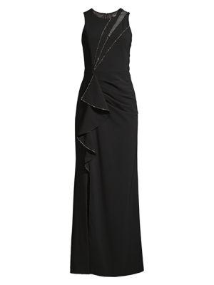 Ella Embellished Column Gown