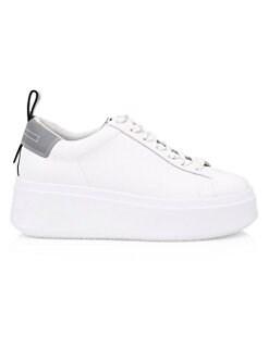 아쉬 문 스니커즈 ASH Moon Platform Sneakers,White Silver