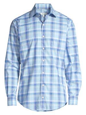 Regular-Fit Milo Plaid Shirt