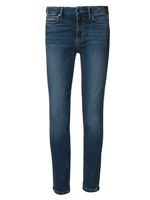 The Icon Mid-Rise Ankle Skinny Jeans