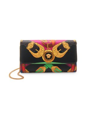 Icon Rodeo Night-Print Leather Clutch