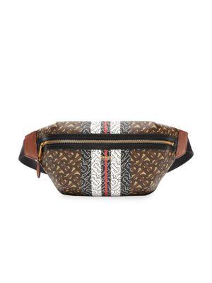 Medium Sonny Monogram Stripe Belt Bag