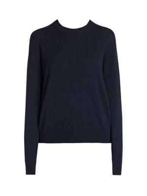 Cashmere Alashan Crewneck Knit Sweater