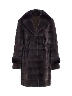Mink & Chinchilla Fur Coat