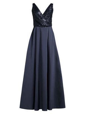 Bella Sequin Evening Gown