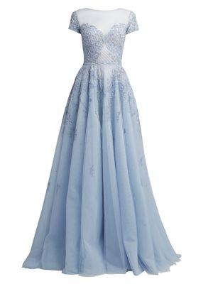 Alicante Embellished Tulle Gown