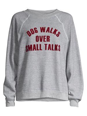 Dog Walker Crew Sweatshirt