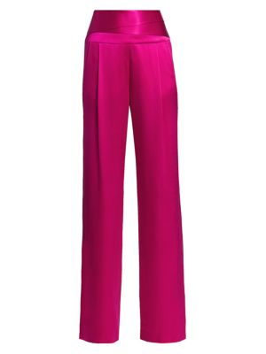 Cumberbund Silk Trousers
