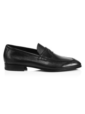 Malta Leather Penny Loafers
