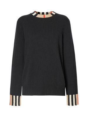 Eyre Vintage Stripe Cashmere Sweater