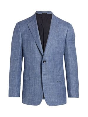 Virgin Wool-Blend Sportcoat