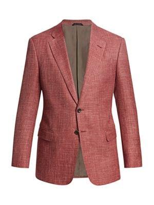 Virgin Wool-Blend Sportcoat