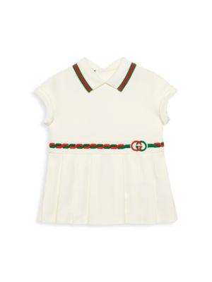 Baby's & Little Girl's Collared Tennis Dress