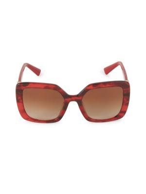 53MM Square Sunglasses