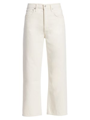 Ren High-Rise Cropped Wide-Leg Jeans