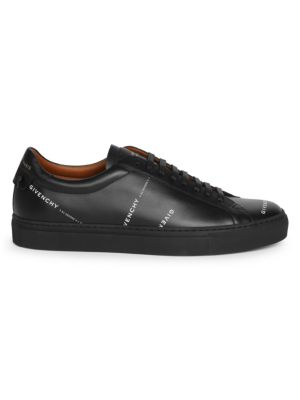 Urban Street Logo Leather Sneakers