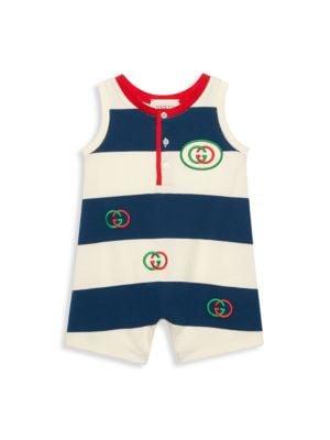 Baby Boy's Striped One-Piece