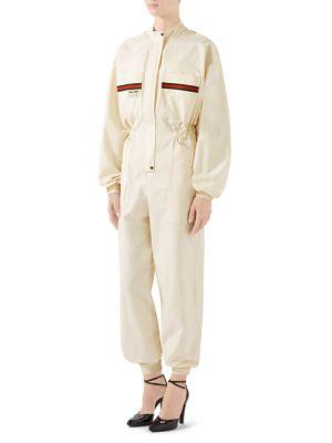 Panama Cotton Jumpsuit