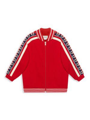 Little Girl's & Girl's Zip Sweatshirt