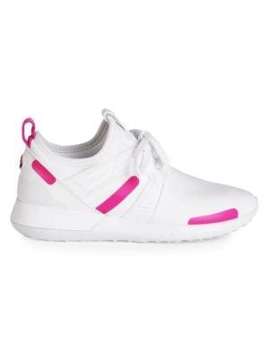 Meline Mixed-Media Sneakers