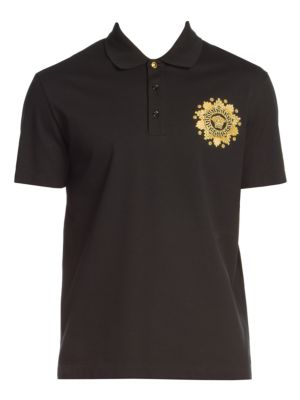 Logo-Embroidered Polo