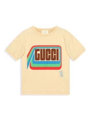 Little Boy's & Boy's Tiger Print T-Shirt