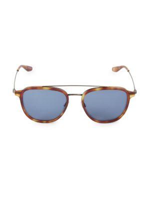 55MM Round Navigator Sunglasses