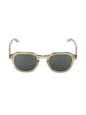 Tucker 49MM Square Sunglasses