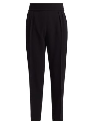 Anagni Pleated Cady Evening Pants