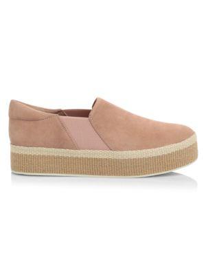 Wilden Slip-On Suede Espadrille Sneakers