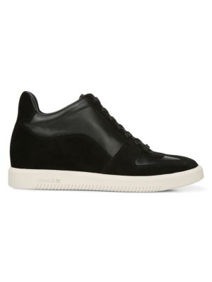 Ina Suede & Leather Sneakers