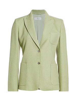 Cashmere Two-Button Blazer