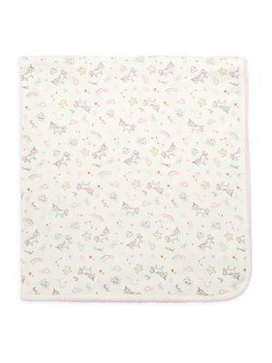 Unicorn Prints Receiving Blanket