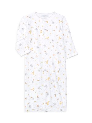 Baby's Pima Cotton Safari Printed Converter Gown