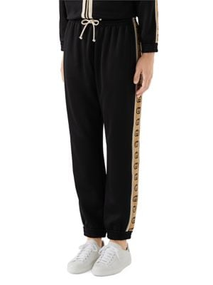 Loose-Fit Technical Jersey Jogging Pants