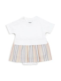버버리 여아용 원피스 Burberry Baby Girls Ruby Jersey Dress,White