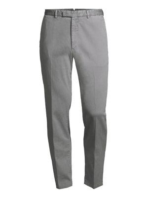 Wool Hopsack Trousers