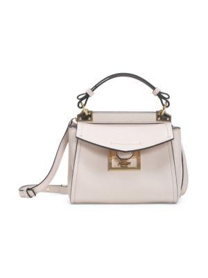 Mini Mystic Leather Top Handle Bag