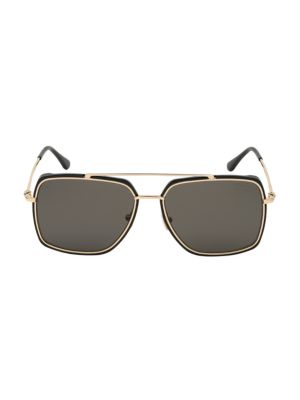 60MM Square Metal Sunglasses