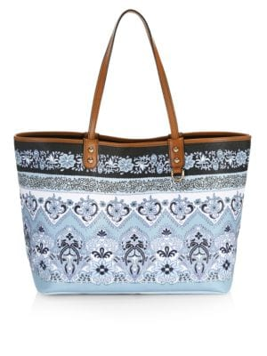 Paisley Shopping Tote Bag