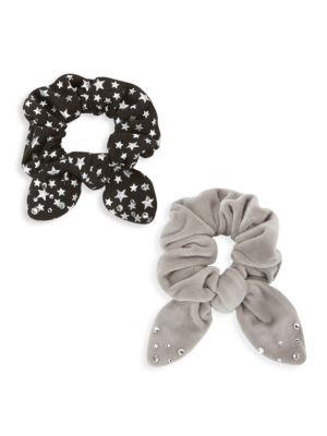 2-Piece Hair Scrunchie Set