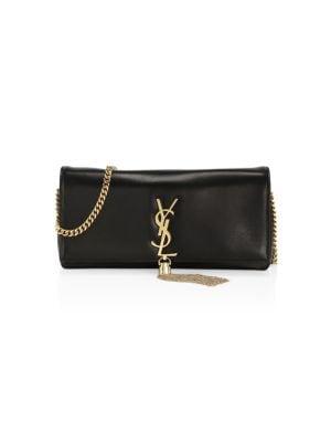 Kate Tassel Leather Baguette