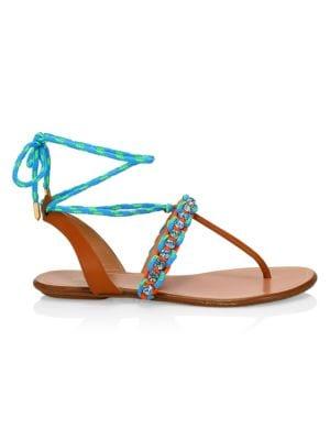 Surf Woven Flat Sandals