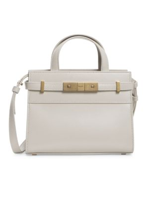 Mini Manhattan Leather Satchel