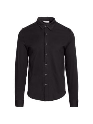 Long-Sleeve Cotton Shirt