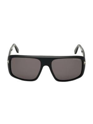 59MM Shield Sunglasses