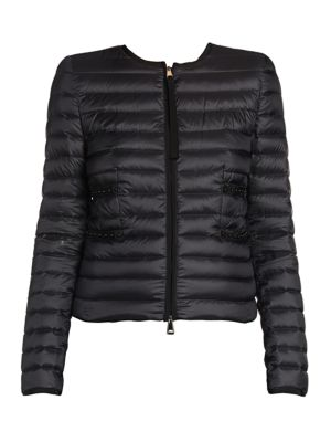 Studded Puffer Jacket