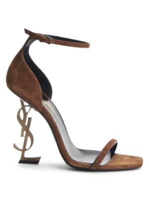 Opyum Suede High-Heel Sandals