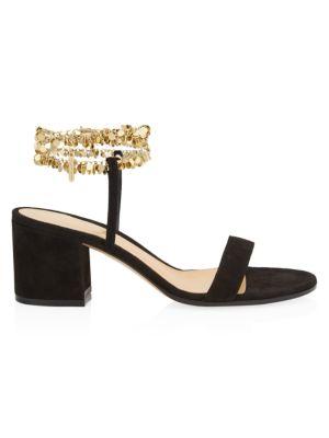 Camnero Suede Sandals